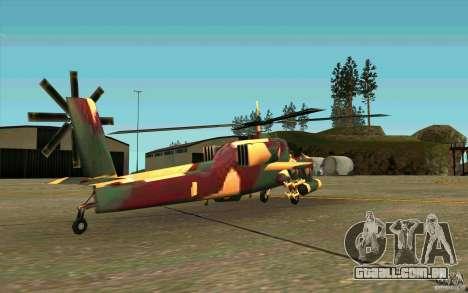 Hunter Armee Look para GTA San Andreas vista direita