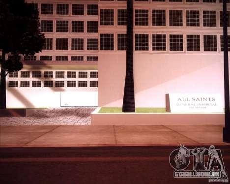 All Saints Hospital para GTA San Andreas segunda tela