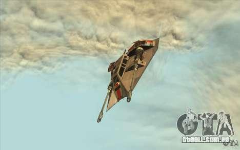 T-47 Snowspeeder para GTA San Andreas vista direita