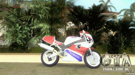 Yamaha FZR 750 original plain para GTA Vice City deixou vista