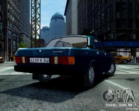 Gaz-31029 para GTA 4 esquerda vista