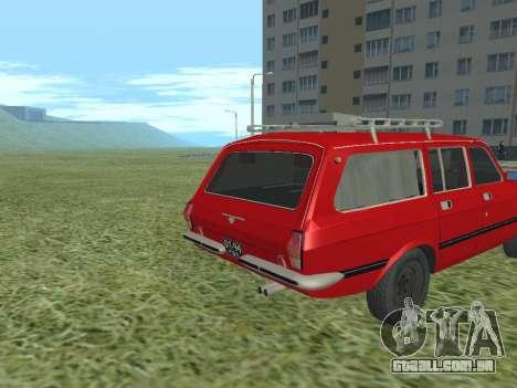 Volga GAZ-24-02 para GTA San Andreas vista direita