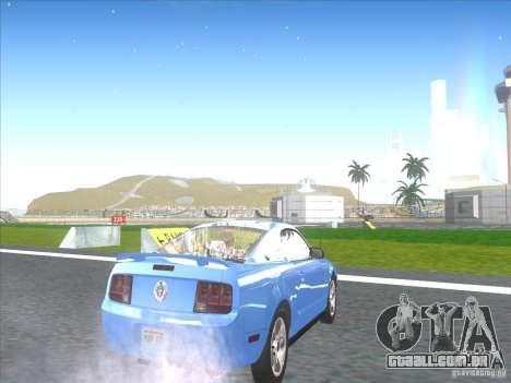 Ford Mustang Pony Edition para GTA San Andreas vista direita