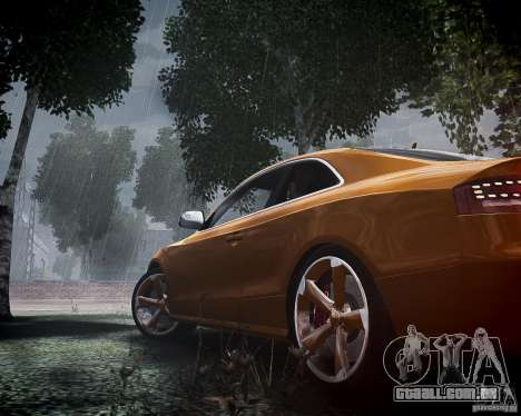 Audi RS5 2010 para GTA 4 vista lateral