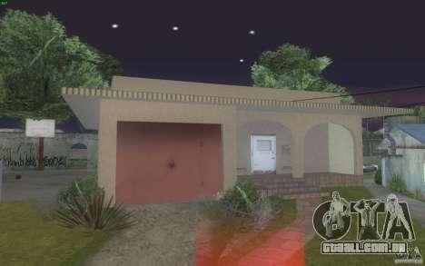 Quatro casas novas na Grove Street para GTA San Andreas segunda tela