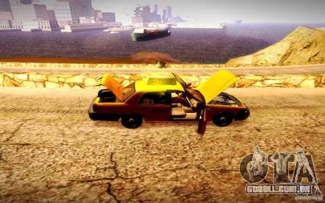 Ford Crown Victoria TAXI 2003 para GTA San Andreas vista direita