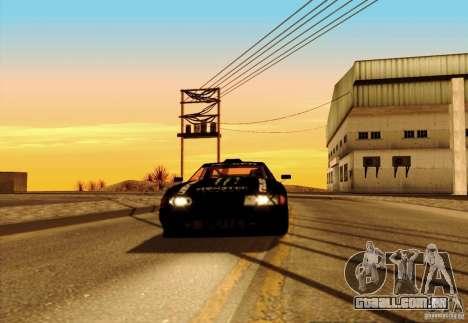 ENBSeries FS by FLaGeR v 1.0 para GTA San Andreas por diante tela