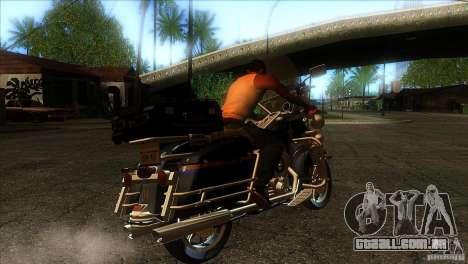 Harley Davidson para GTA San Andreas vista direita