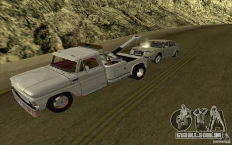 Chevrolet guincho para GTA San Andreas esquerda vista