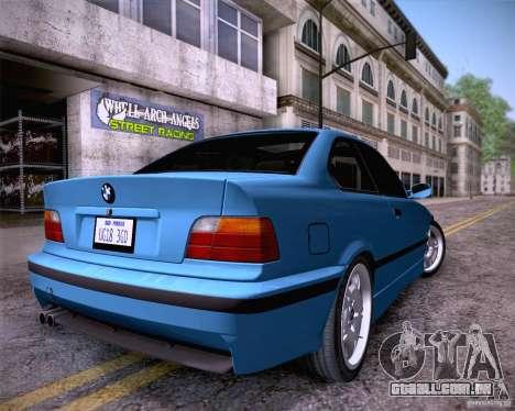 BMW M3 E36 1995 para GTA San Andreas esquerda vista