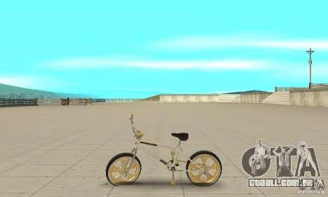 Spin Wheel BMX v2 para GTA San Andreas esquerda vista