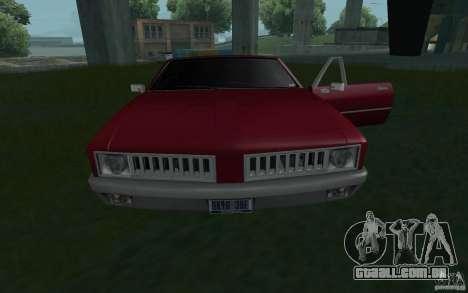 HD garanhão do GTA3 para GTA San Andreas vista direita