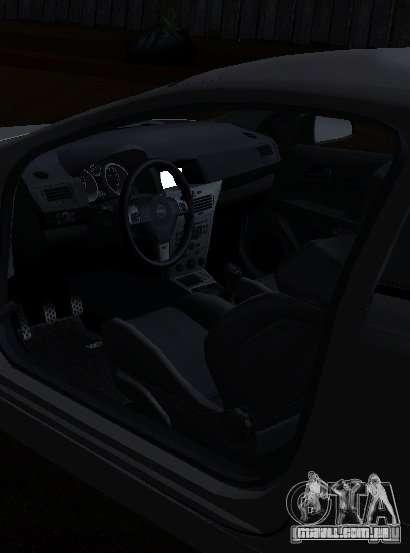 Opel Astra GSI para GTA San Andreas traseira esquerda vista
