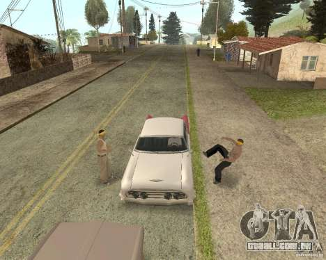 More Hostile Gangs 1.0 para GTA San Andreas sétima tela