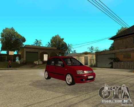 2004 Fiat Panda v.2 para GTA San Andreas vista direita