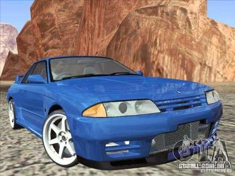 Nissan Skyline GT-R 32 1993 para GTA San Andreas vista direita