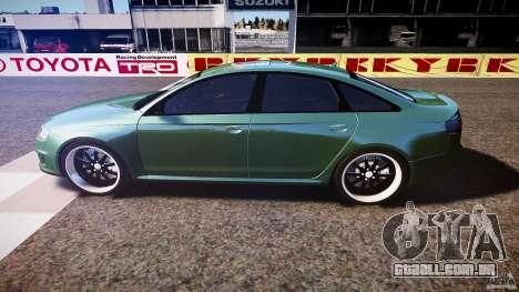 Audi RS6 2009 para GTA 4 esquerda vista