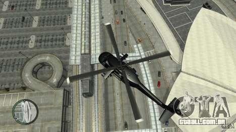U.S. Air Force (annihilator) para GTA 4 vista de volta