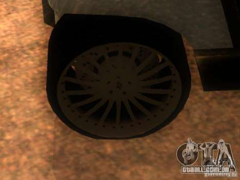 Cadillac v 1.0 restyling para GTA San Andreas vista traseira