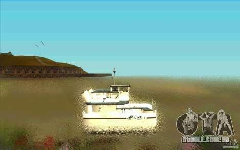Ferry para GTA San Andreas esquerda vista