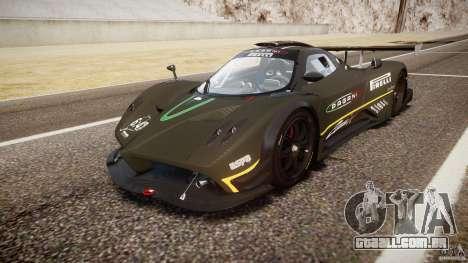 Pagani Zonda R 2009 para GTA 4