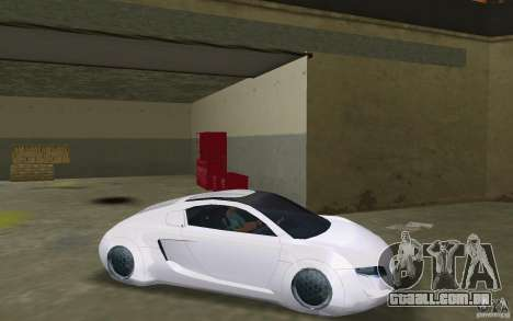 Audi RSQ concept para GTA Vice City vista direita