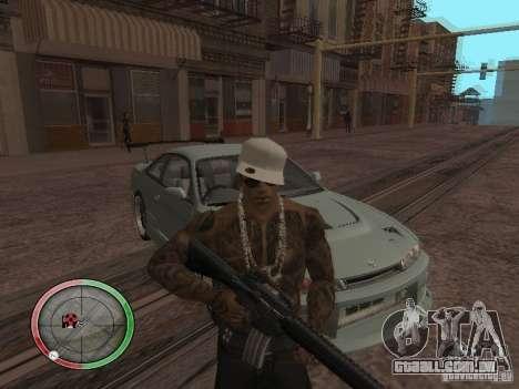 GTA IV HUD v4 by shama123 para GTA San Andreas segunda tela