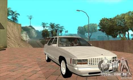 Cadillac Deville v2.0 1994 para GTA San Andreas vista traseira