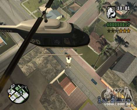 Helicóptero Zaprygivayem para GTA San Andreas terceira tela