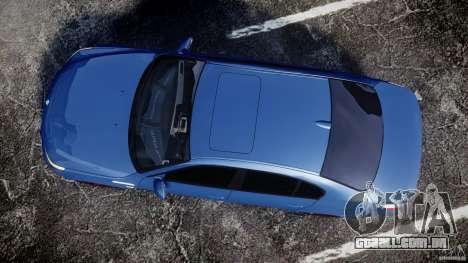 BMW M5 E60 2009 para GTA 4 vista direita