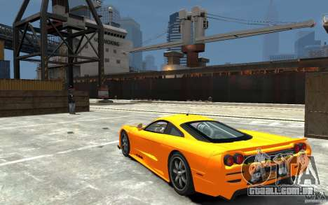 Saleen S7 para GTA 4 traseira esquerda vista