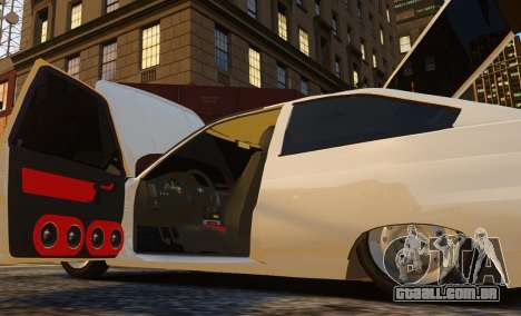 VAZ-2112 Coupe para GTA 4 vista de volta
