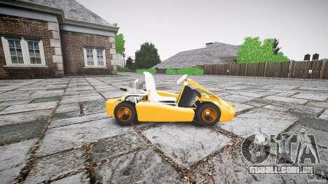 Karting para GTA 4 esquerda vista
