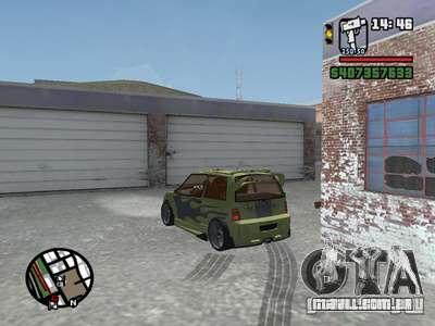 1111 OKA (tuning) para vista lateral GTA San Andreas