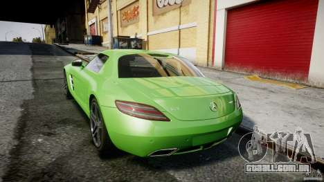 Mercedes-Benz SLS AMG 2010 [EPM] para GTA 4 vista inferior