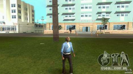 Alterar o Player pele para GTA Vice City terceira tela