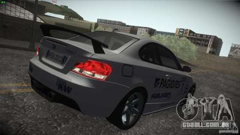 BMW 135i Coupe Road Edition para as rodas de GTA San Andreas