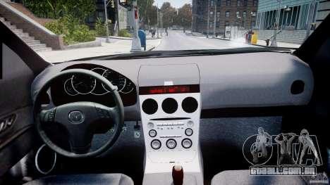 Mazda 3 2004 para GTA 4 vista direita