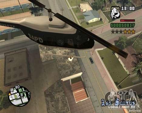 Helicóptero Zaprygivayem para GTA San Andreas segunda tela