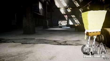 Bob Esponja para GTA 4 oitavo tela