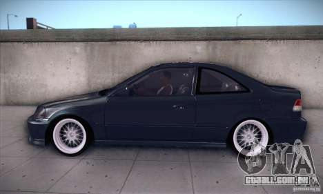 Honda Civic 6Gen para GTA San Andreas esquerda vista