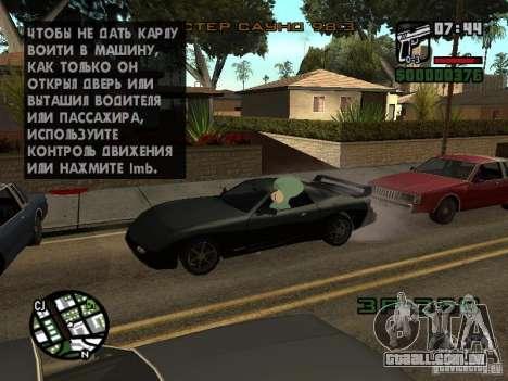Lula Molusco para GTA San Andreas nono tela