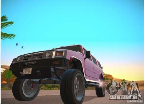Patriota do GTA 4 para GTA San Andreas esquerda vista