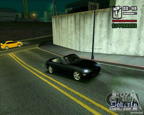 Mazda Miata Tunable para GTA San Andreas esquerda vista