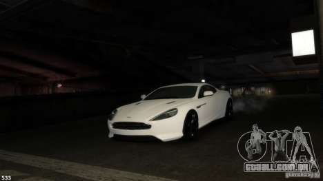 Aston Martin Virage 2012 v1.0 para GTA 4