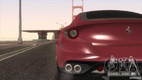 Ferrari FF 2011 V1.0 para GTA San Andreas