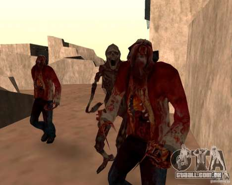 Zombie Half life 2 para GTA San Andreas sétima tela
