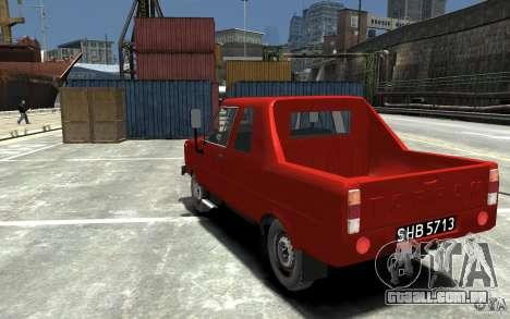 FSR Tarpan 237D para GTA 4 traseira esquerda vista