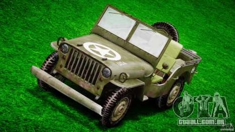 Jeep Willys [Final] para GTA 4