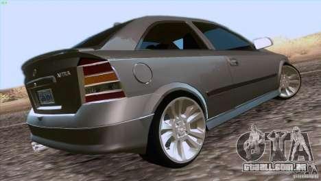 Opel Astra G 2.0 1.6V para GTA San Andreas esquerda vista